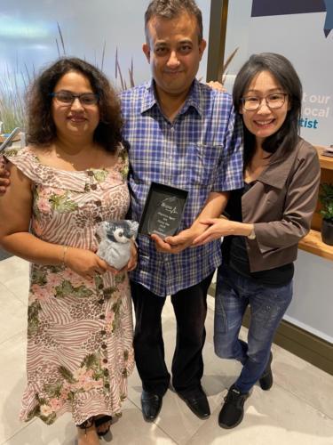 Bupa Rising Star Award - WA-2019-IMG 3202