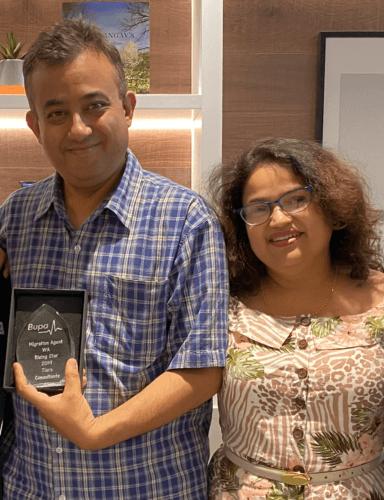 Bupa Rising Star Award - WA-2019-IMB 3200